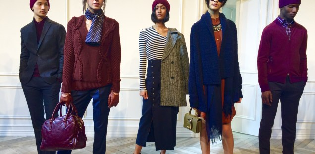 Looks From The Banana Republic NYFW 2016 presentation: