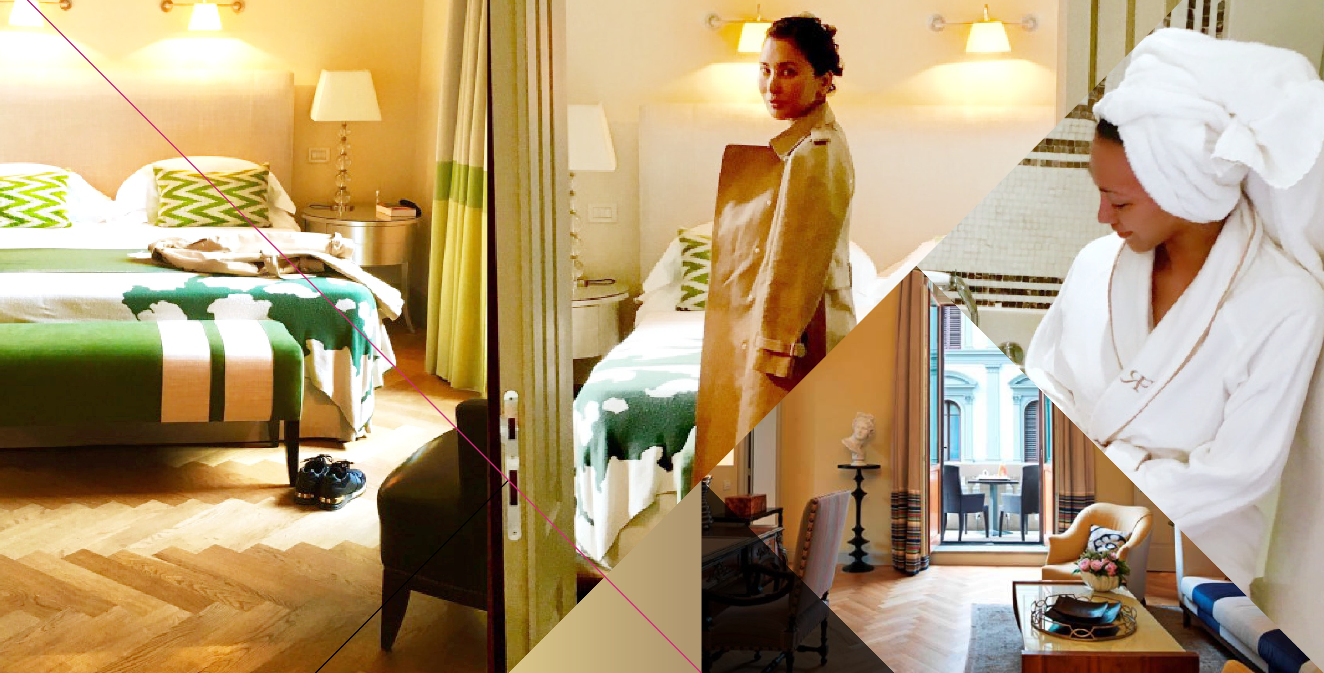 Collage_Hotel Room