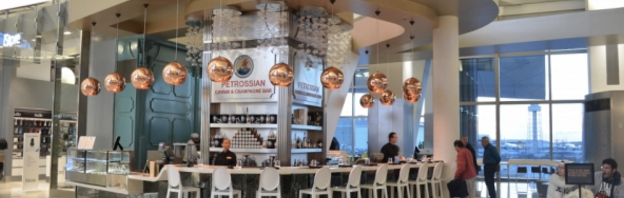 The-Ambitionista-At-LAX-Petrossian-Caviar