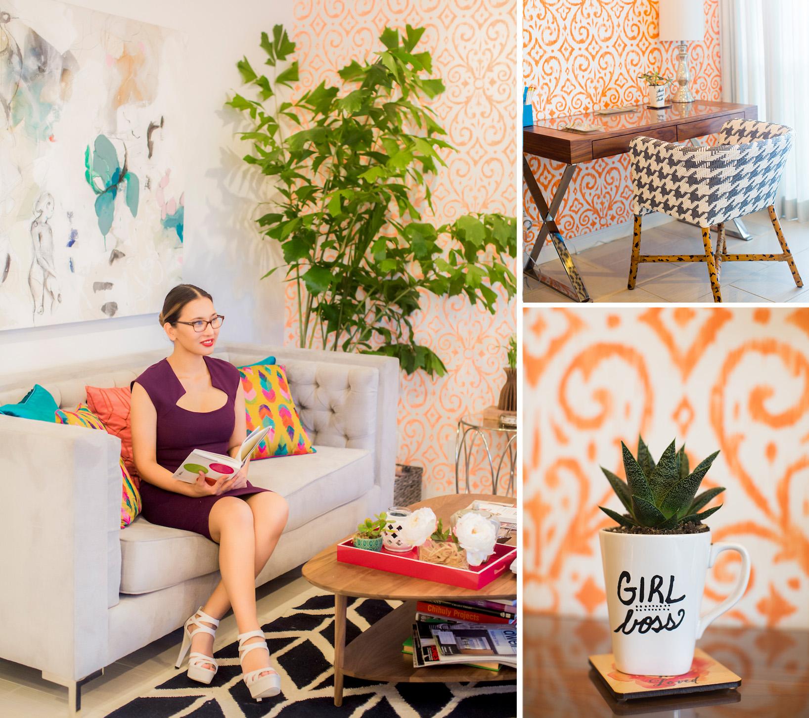 Colorful-Office-Pegs-Girl-Boss-Artsy-office-desk