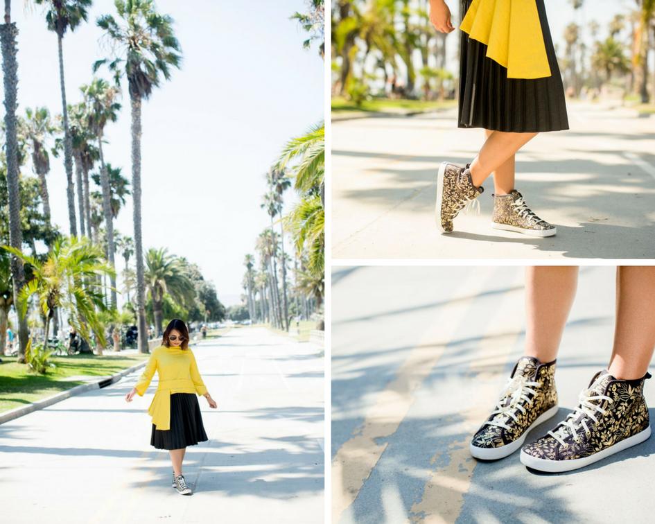 Heidi Nazarudin wears Keds